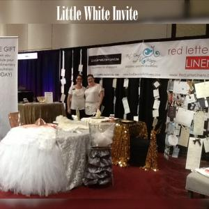 little white invite